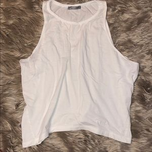 Zara. White muscle tee